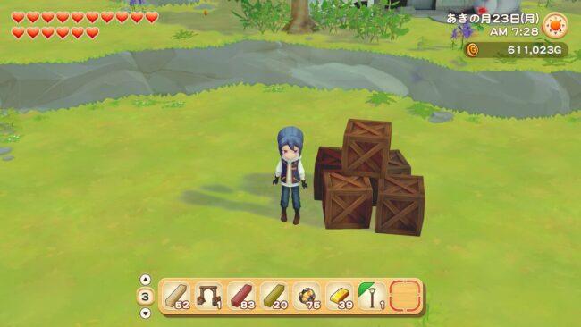 牧場物語オリーブタウン 木箱